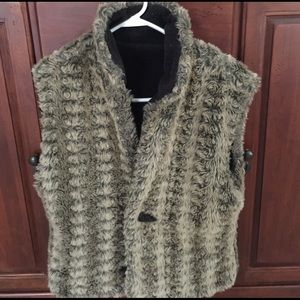 Fjallraven Jackets & Blazers - Women's reversible fur vest
