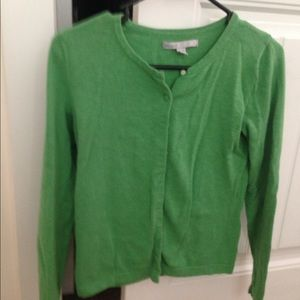 Kelly Green Old Navy Cardigan size M GUC