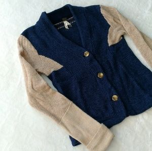 Free People wool sweater cardigan