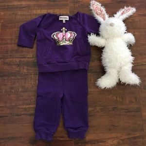 🎈Juicy Couture🎈tracksuit set