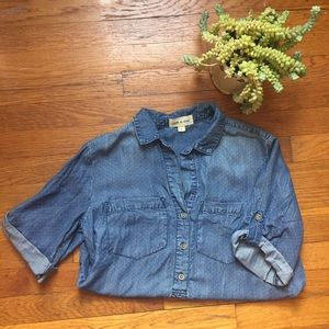 Anthropologie Cloth + Stone Pullover Top