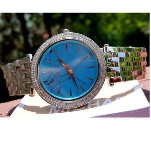 Michael Kors Accessories - Michael Kors Darci MK Pave bracelet watch MK3403