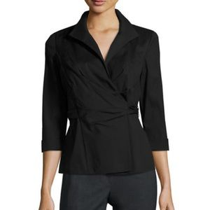 Lafayette 148 New York Tops - Lafayette wrap around blouse