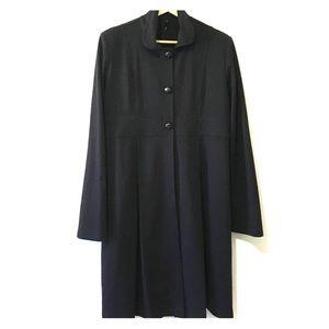 Olian Jackets & Blazers - Olian Maternity Black Trench Coat