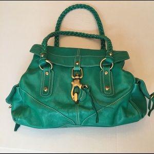 Francesco Biasia Handbags - Francesco Biasia Green Purse NWOT