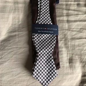 Tommy Hilfiger Other - New bow tie with pocket square
