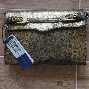 Rebecca Minkoff Handbags - Rebecca Minkoff Gold Sophie Buckle Flap NWT Bag