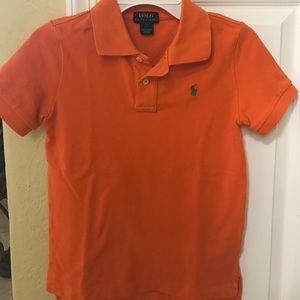 Polo by Ralph Lauren Other - Boys Ralph Lauren Orange Polo Size 7