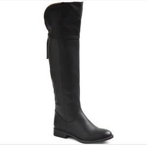 Mossimo Supply Co. Shoes - Mossimo Supply Co. Arwan Over the Knee Black Boots