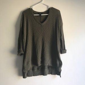 BRIDGETTE side slit sweater