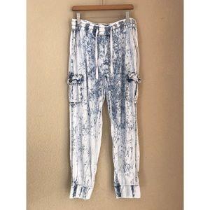 36.5 Pants - Acid Wash Joggers - 80's Style