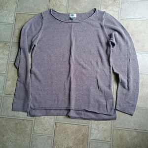 Old Navy size L brown sweater