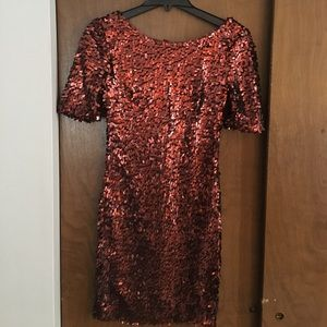 Sequin dress. Perfect for New Year's Eve