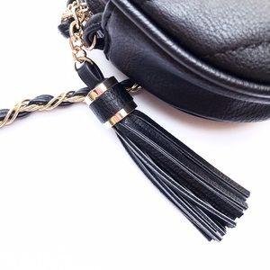 Forever 21 Bags - NWOT Black Quilted Tassel Crossbody Bag