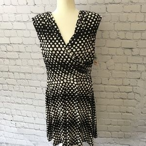 alyx Dresses & Skirts - Alyx unlimited black/white polka dot dress NWT