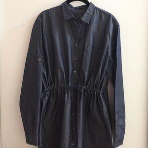 ATM Anthony Thomas Melillo Dresses & Skirts - ATM Cotton Chambray Shirt Dress