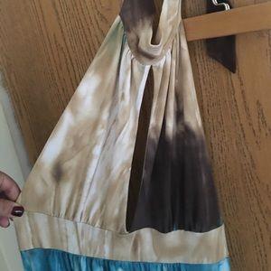 Tiara Dresses & Skirts - Halter maxi