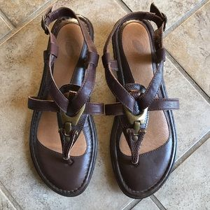 Nurture by Lamaze Shoes - New Brown Leather Sandals