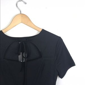 Very J Dresses & Skirts - Little Black Dress- Tie Neck 🌿