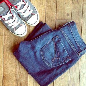"""James Jeans Denim - James """"Dry Aged Denim"""" flared jeans"""