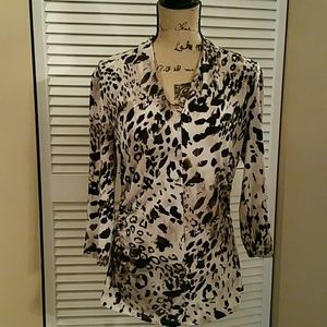 Vince Camuto - Animal Print, Fitted