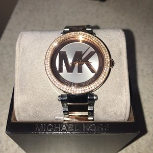 Michael Kors Accessories - ONE HOUR SALE! Michael Kors Two-toned Watch