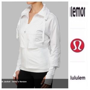 lululemon athletica Jackets & Blazers - Lululemon seek the peak white jacket