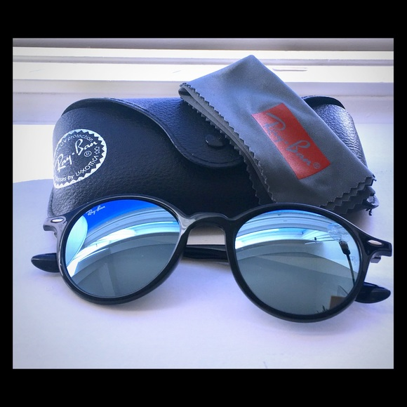 3cea6418fe5 Ray-Ban Accessories - Round Liteforce Ray-bans -reflective lenses