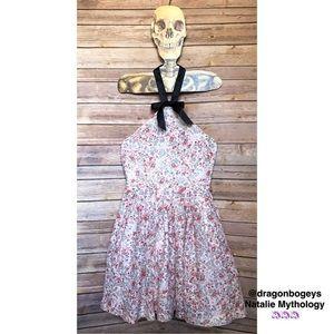 Rodarte Dresses & Skirts - Rodarte High Neck Halter Dress