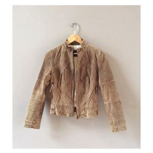 Zara Jackets & Blazers - Zara faux suede crop jacket, sz S