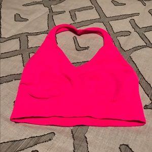 Neon Pink Dance Halter