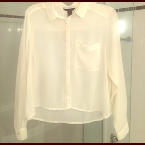 H&M Sheer Blouse