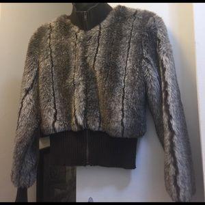 Rave Jackets & Blazers - Rave Faux Fur Jacket