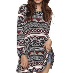 Dresses & Skirts - Tribal Print top