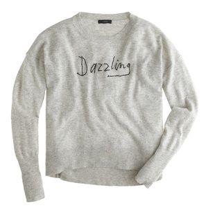 NWOT J. Crew x Hugo Guinness Dazzling Sweater