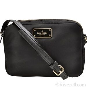 NWT Kate Spade Crossbody Bag BLACK