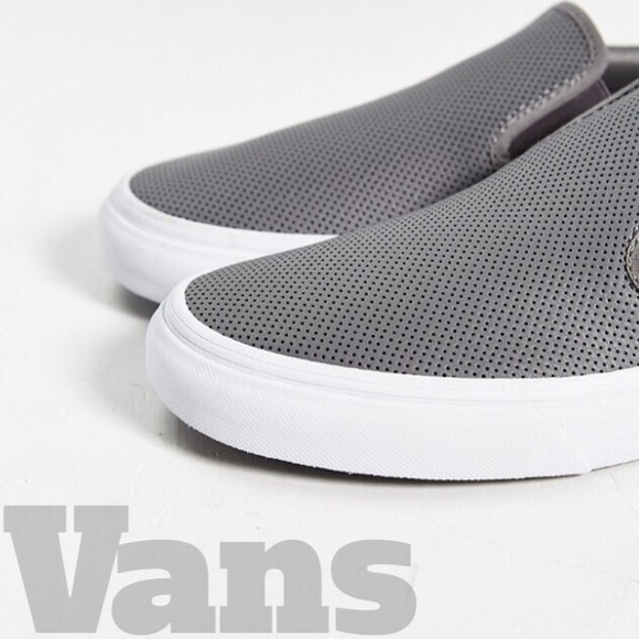 aa60571dac Vans Classic Slip Ons- Smoked Pearl (Grey). M 58b1f4562ba50aa2df017873.  Other Shoes ...