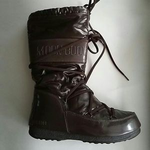 Moon Boot Shoes - Brown Moon Boots