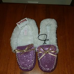 Other - Fuzzy moccasins