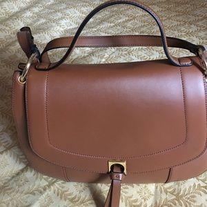 Ivanka Trump Handbags - Ivanka Trump Leather Claudi Saddle bag