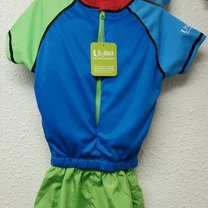 17765bc41b0 Speedo Swim - Kids Speedo Boys UV 2 Piece Flotation Suit New