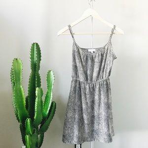 FINAL PRICE | Animal Print Polka Dot Cami Dress