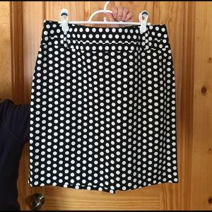 Rafaella Dresses & Skirts - Rafaella Polka Dot Skirt