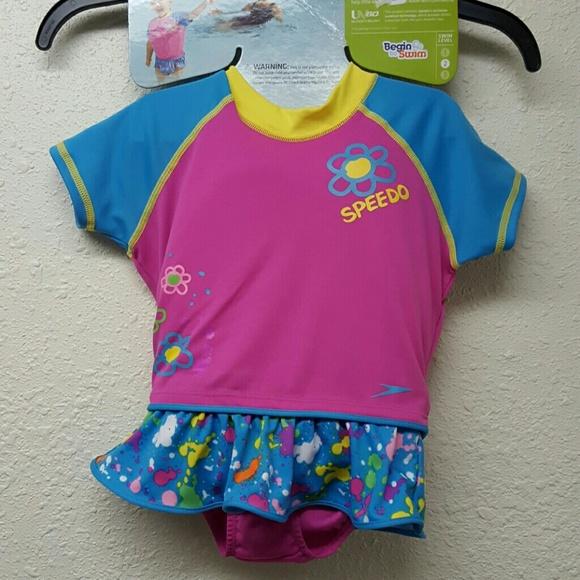 7ac0b816b40 Speedo Swim | Kids Girls Uv Flotation Suit Size Sm | Poshmark