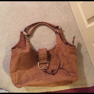 Mads Norgaard Handbags - Suede handbag