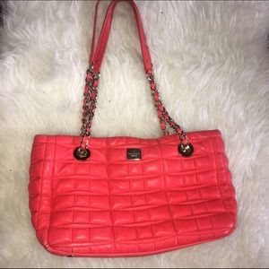 kate spade Handbags - 💖WEEKEND ONLY! KATESPADE QUILTED BOW BAG ORANGE💖