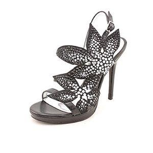Nina Shoes - Nina Shoes Jeweled heel sandal size 8.5