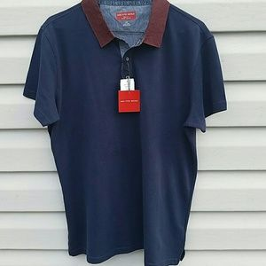 NWT Sacs Polo Trim Fit Large, Medium short sleeve