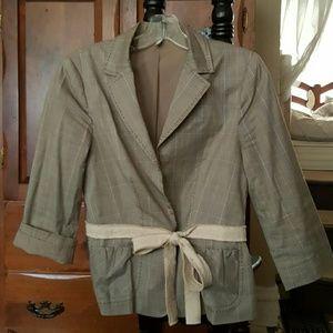 Miansai Jackets & Blazers - 3/4 Sleeve light plaid jacket