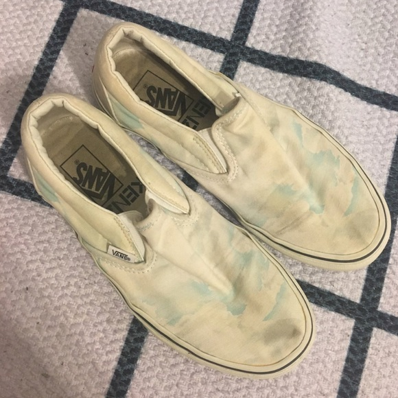 Vans Shoes - KENZO CLOUDY SLIP ON VANS SZ 9 OPENING CEREMONY